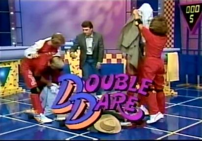 Double Dare. They always gave away those awesome Huffy Bikes!