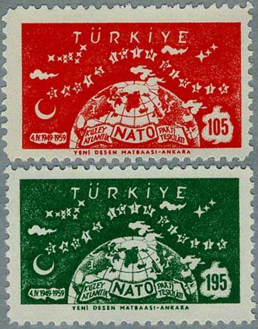 ◇ Turkey Stamp 1959