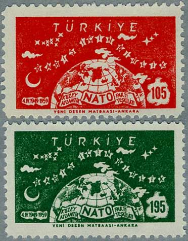 ◇ Turkey Stamp 1959