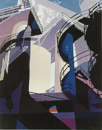 Precisionist Painters - Charles Sheeler, Charles Demuth, Georges Ault, Niles Spencer, Ralston Crawford