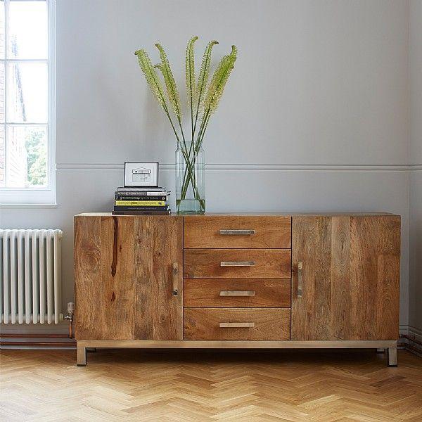 industrial inspired furniture. artisan sideboard industrial inspired furniture