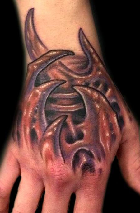 63 best images about bio organic tattoos on pinterest for Biomechanical hand tattoo designs