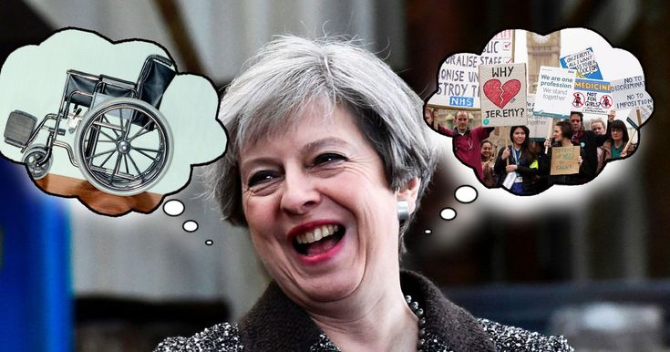 Theresa May is touring the country promising to make your life better on June 8. But what about the nasty or unfair cuts she'd rather you forgot about?