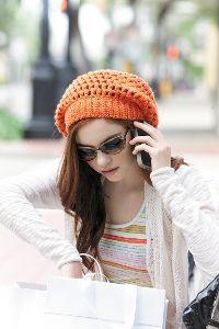 Pop Star Slouch Hat~Using one skein of yarn!