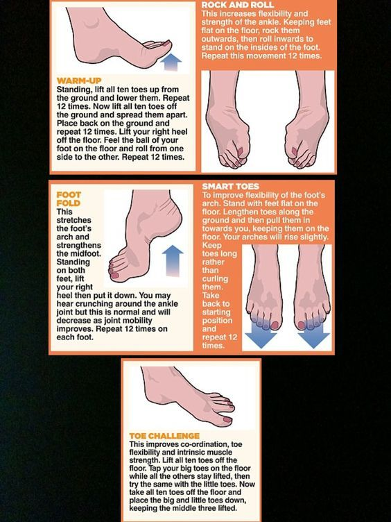 Great exercises to strengthen feet: