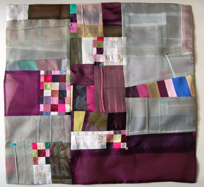 Bojagi - a traditional korean patchwork quilt WON JU SEO - A Collection of Won Ju Seo's Contemporary Bojagi Art