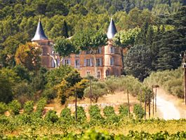 Chateau Robernier, in Montfort, close to Cotignac is a private house.