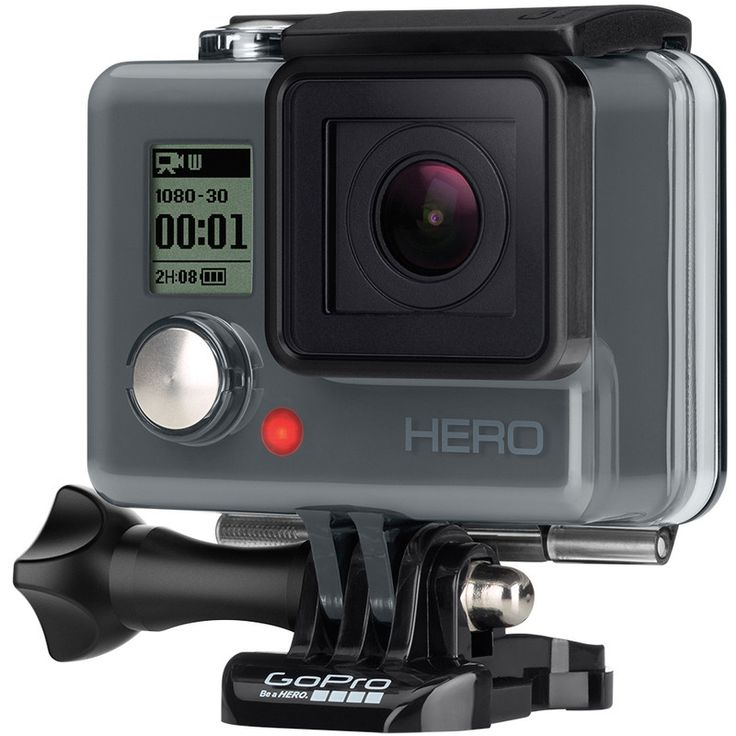 GoPro HERO Camera  This tiny camera is made to withstand water, snow, and mud - it can probably handle toddlers too - so you can shoot any adventure and share it wirelessly.  bestbuy.com $130