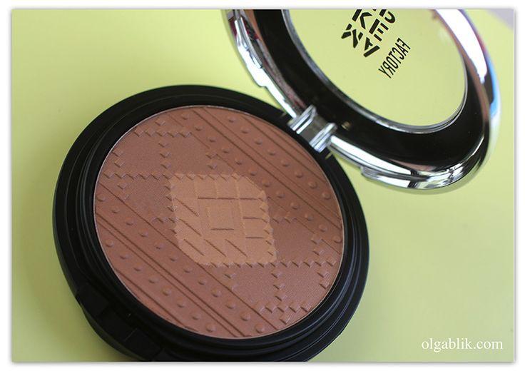 Бронзатор для лица Make Up Factory Sun Teint Powder AZTEC VIBES