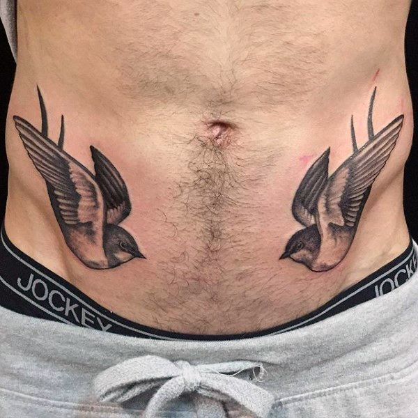 Sparrow Tattoos for Men - Ideas and Inspiration for Guys