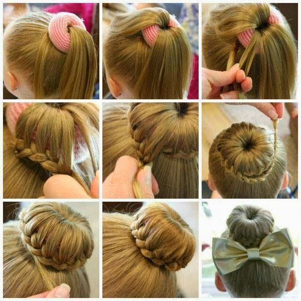 Hair Style Step By Step Awesome 8 Best Stepstep Prom Bridal Hairstyles Images On Pinterest .