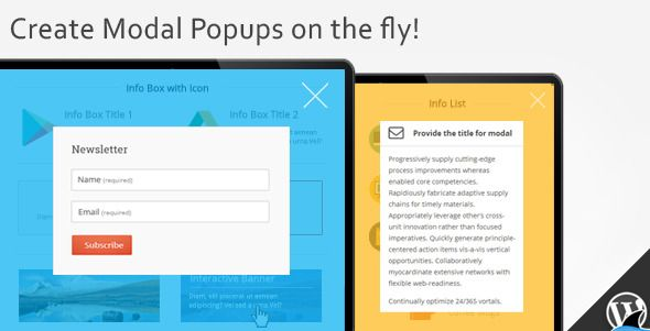 Modal Popup Box For Visual Composer from Brainstorm #Sharks Rocks