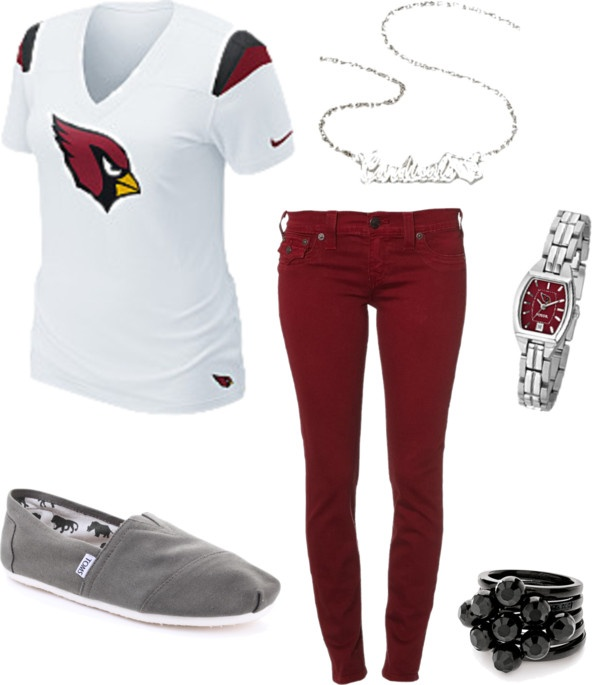 """Arizona Cardinals Casual Game Day Attire"" by azcardinals on Polyvore"