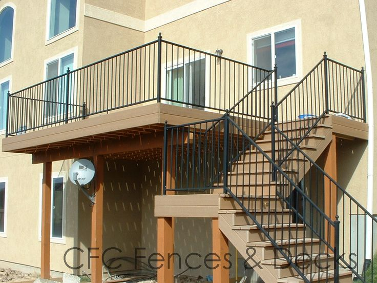 Trex Composite Decking Second Story