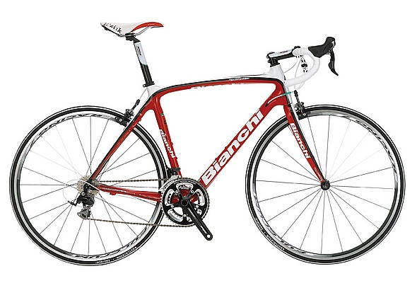 Bianchi Infinito 105 Road Bike. Love the color of white and red!