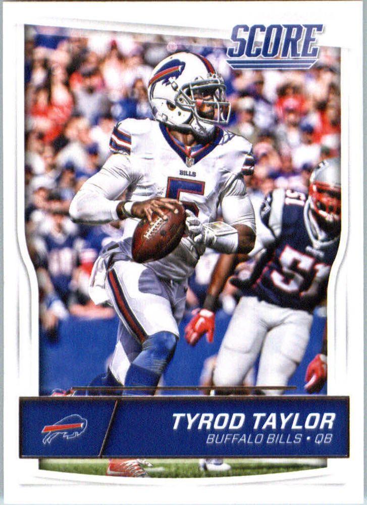 Tyrod Taylor 2016 Score #32 Buffalo Bills Virginia Tech Hokies #BuffaloBills