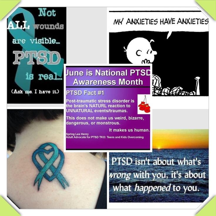 June is ptsd awareness month me pinterest ptsd