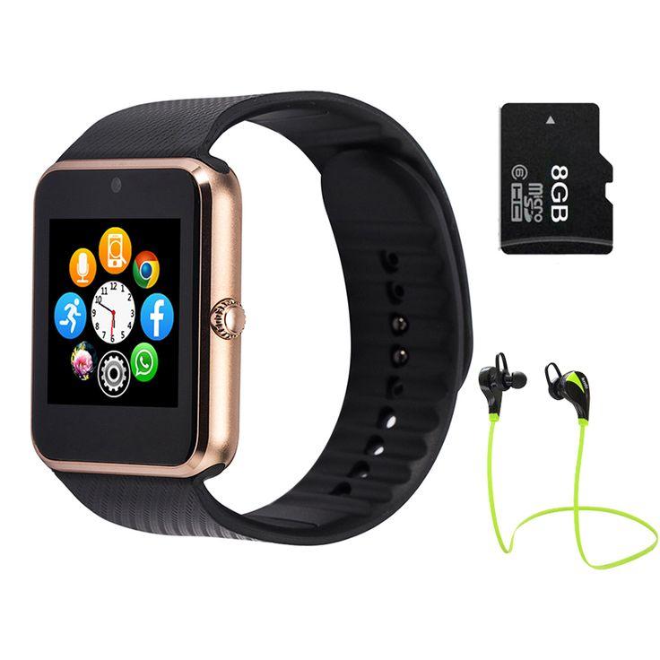 Mehrsprachige! Smart Watch gt08 Clock Sync Antragsteller unterstützt sim-karte bluetooth für apple iphone android-handy SmartWatch uhr //Price: $US $23.99 & FREE Shipping //     #smartuhren