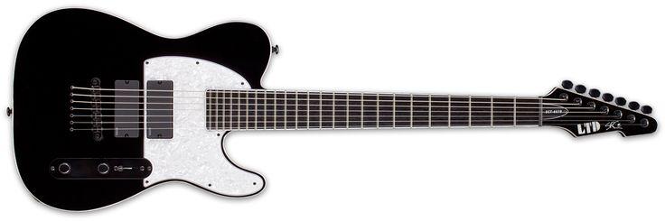 Harri's guitar: LTD SCT-607b  #distressofruin #LTD #ESP #SCT607b #carpenter #7string #guitar #electric #music #telecaster