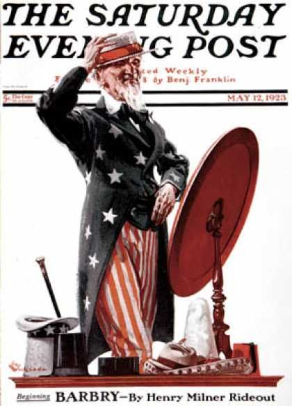 Saturday Evening Post April 27, 1935 - Rockwell