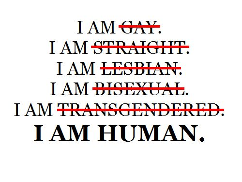 "Just a friendly reminder to all who may have forgotten the simple truth. (Also, Transgender* not ""Transgendered"")."