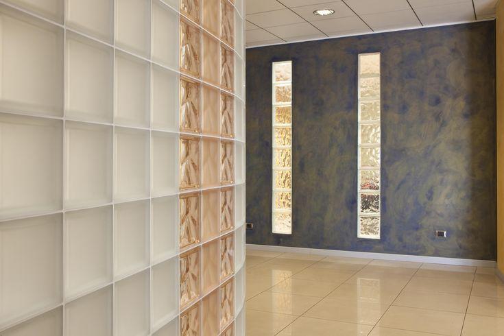 Ladrillos de Vidrio - Combinacion de Diseños y Texturas
