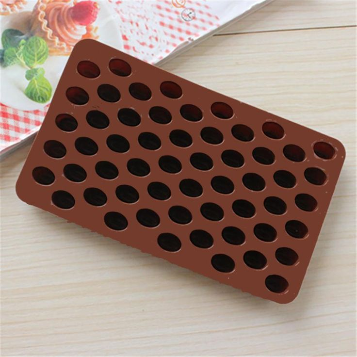 Saingace Coffee Bean Shape Chocolate Candy Silicone Bakeware Mould Cake Mold DIY Kitchen Tool Happy Sale. Click visit to buy #Bakeware