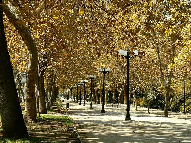 Santiago de Chile / Parque Forestal