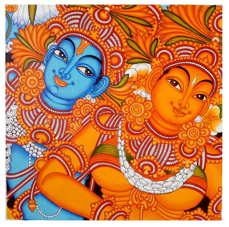 1000 ideas about mural painting on pinterest for Mural radha krishna