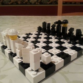 Make your own LEGO chess set!