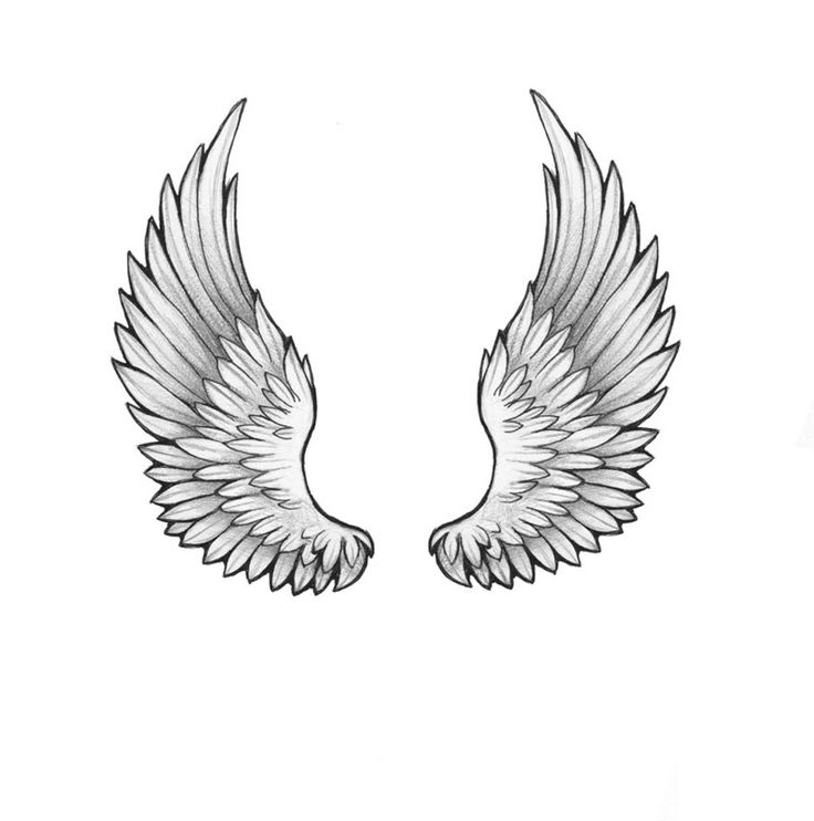 Hopefully one day when I become skinny (HAHA!), I can get angel wings on my back! I love angel wings!