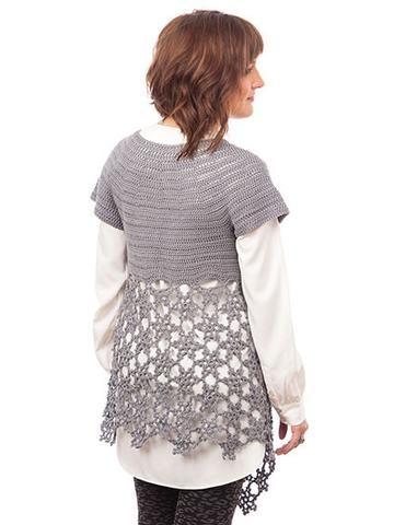 Picture of La Luna Cardigan Crochet Pattern Leaflet