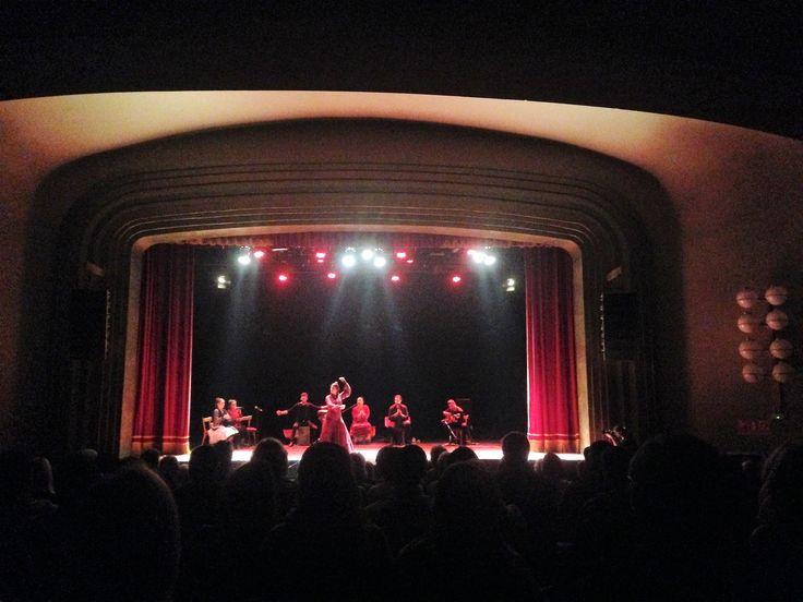 Flamenco show off La Rambla, Barcelona
