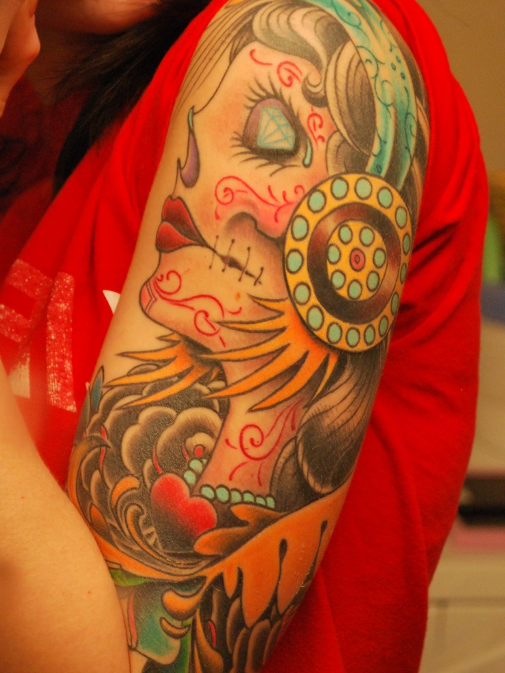 i want a sleeve :) maybe when i lose half my arm... oh let this baby come out! i need some ink