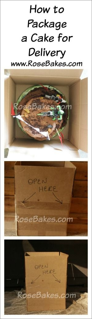 How to Package a Cake for Delivery