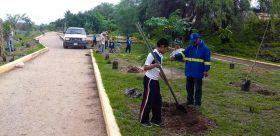 Sociedad civil se suma a las acciones de reforestación de espacios públicos