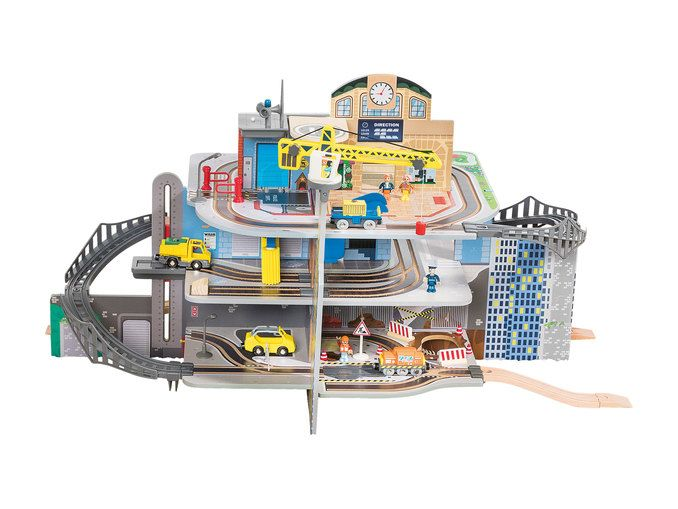 Playtive Junior Küche Lidl Playtive Junior Xxl Train Station Play Set - At Lidl Uk