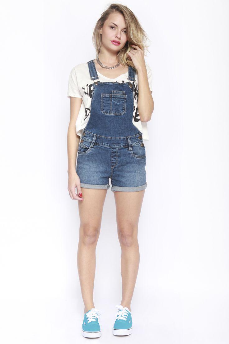 9 best Outfit Overol Mezclilla images on Pinterest