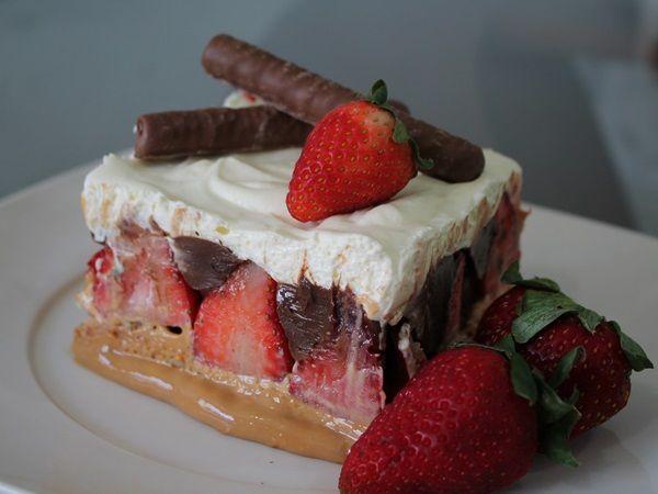 Torta Sensação de Morango