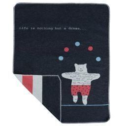 Juggling Bear Blanket | Toronto Baby Store: balafant boutik  David Fussenegger