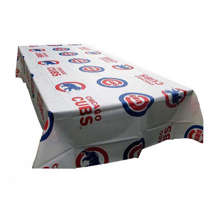 Chicago Cubs MLB Twin Pack Table Covers (2 Covers)