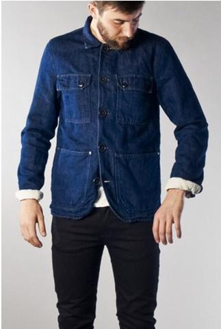 jacket denim indigo