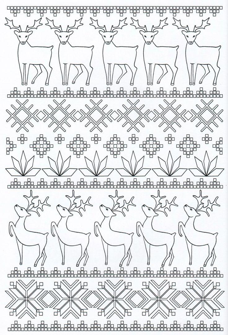 Scandinavian Coloring Book Pg 14