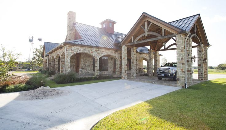 Texas timber frames residential ranch home photo gallery for Ranch timber frame plans