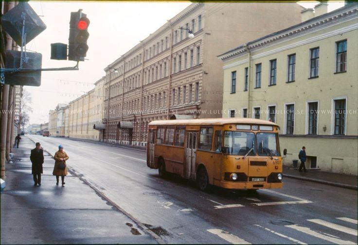1986. Георг Лулич в Ленинграде - Записки скучного человека