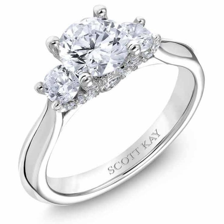 Scott Kay Crown 5 Stone Diamond Wedding Band: 2937 Best Images About Engagement Rings On Pinterest