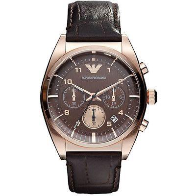 Emporio Armani man chronograph watch AR0371 - WeJewellery