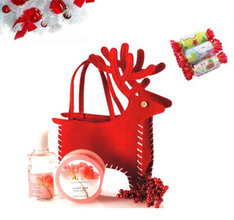Christmas Gift Bags Deer Style Cosmetic Cloth Bags,Cristmas decoration. ECA Listing By Mirelli Shop, Serbia