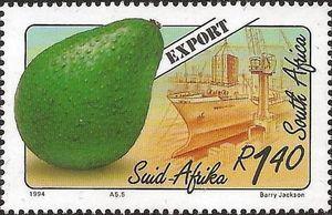 Stamp: Avocados (South Africa) (Export Fruits) Mi:ZA 921,Sn:ZA 877,Yt:ZA 838