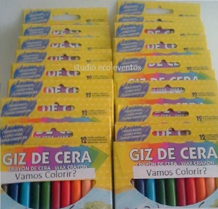 ARTE E CRIAÇÃO - Kit arte    VENDA MÍNIMA: 10 UNIDADES    Ideal para lembrancinha usual infantil  _Lápis de cor  _Massinha de modelar  _Giz de Cera  _ kit para pintura ( desenhos e cadernos)    Monte conforme sua necessidade  ___________________________________________    Frete: sempre por conta ...
